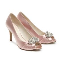 Paradox London Pink Tender Peep Toe Shoes