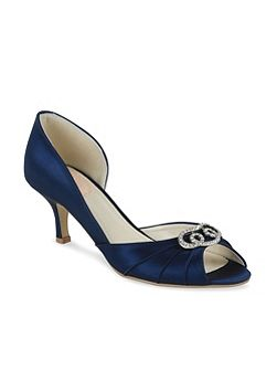 Open waisted Amelia peep toe