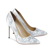 High heel Saskia court shoe
