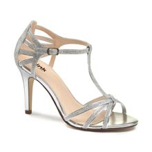 Paradox London Pink Phoebe t-bar strappy heeled sandals