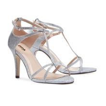 Paradox London Pink Peyton strappy t-bar sandals