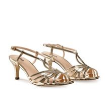 Paradox London Pink Trinity strappy t-bar sandals