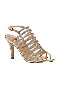 Skylar caged heeled sandals