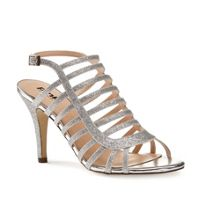 Paradox London Pink Skylar caged heeled sandals