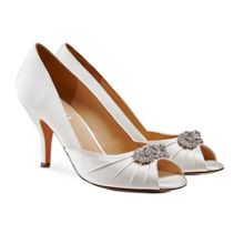 Benjamin Adams Carmella peep toe shoes