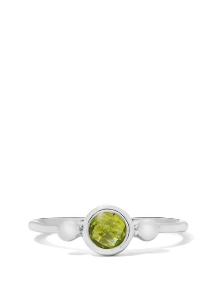 Gemporia Hunan peridot sterling silver ring