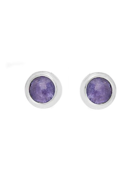 Gemporia Tanzanite sterling silver earrings