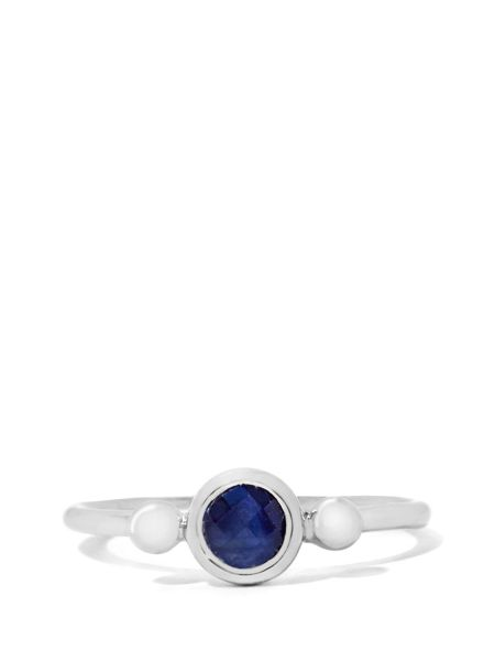 Gemporia Blue sapphire sterling silver ring