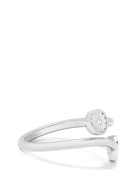 Gemporia Diamond sterling silver ring