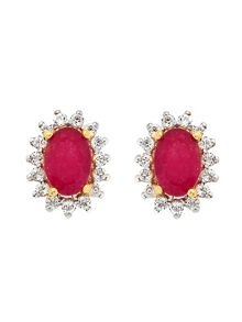 Gemporia Ruby earrings