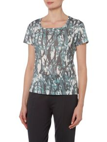 VIZ-A-VIZ Tribal All Over Print Top