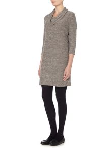 VIZ-A-VIZ Cowl Neck Dress