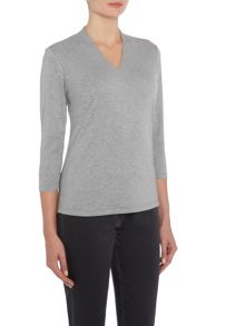 VIZ-A-VIZ High Back V Neck Top