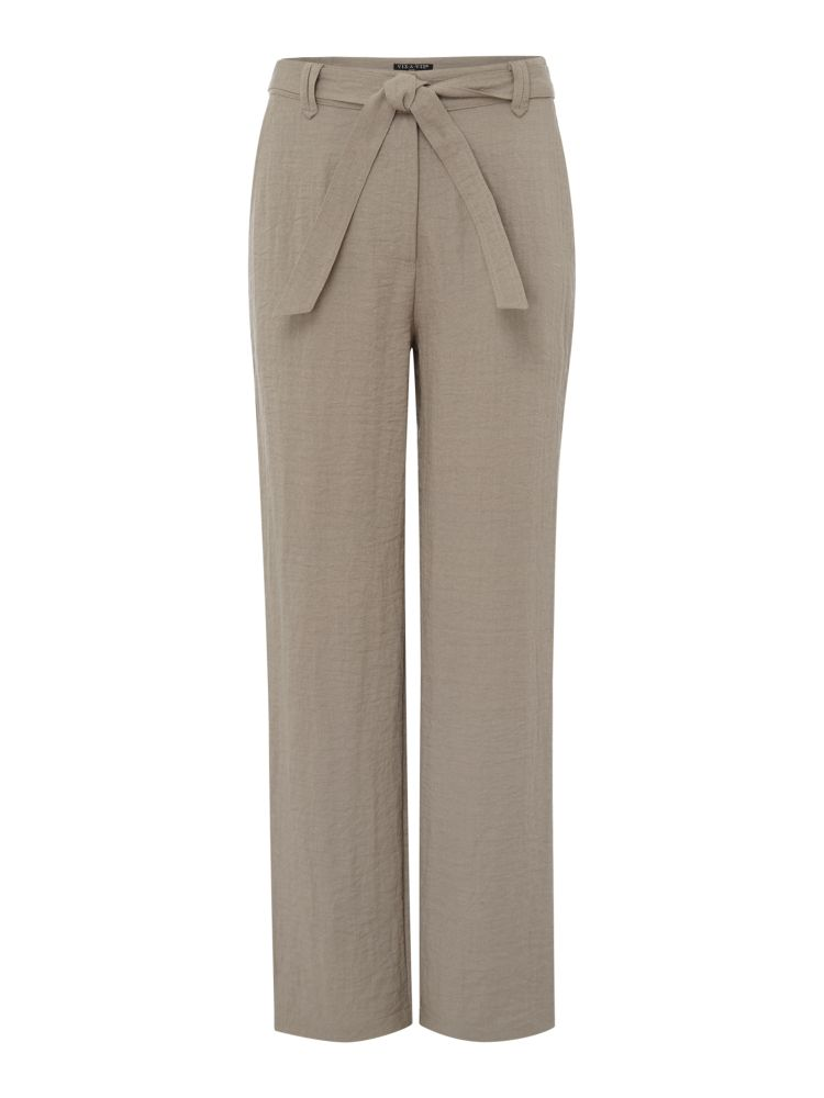VIZ-A-VIZ Straight Leg Trousers, Grey