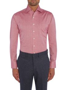 Chester Barrie Plain Tailored Fit Long Sleeve Classic Collar For