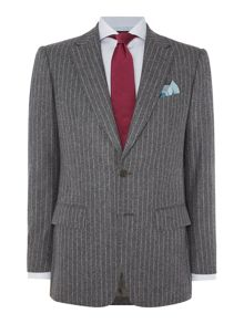 Chester Barrie Elverton Flannel Chalkstripe Suit