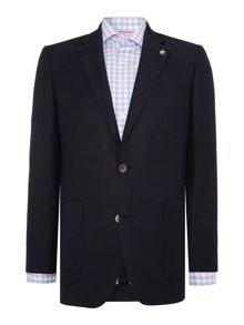 Chester Barrie Tailored Fit Jacket - Wool/Linen