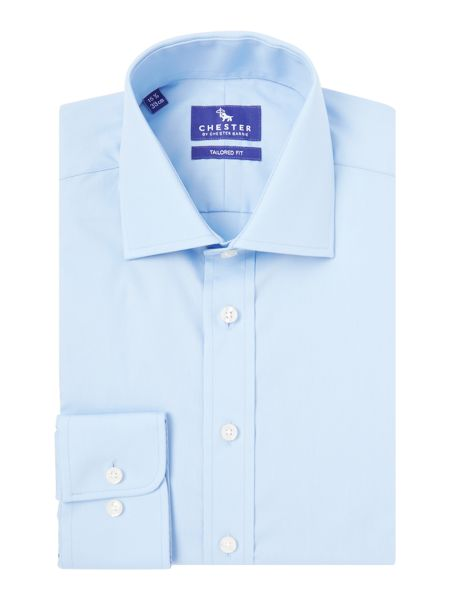 Chester Barrie L/s carlton blue s/c