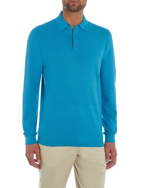 Chester Barrie L/S Polo Shirt