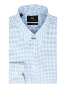 Chester Barrie L/S Contemp Thomas Textured Gingham S/C
