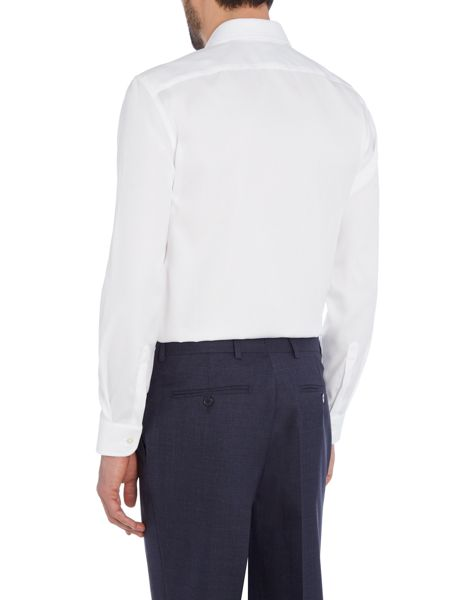 Chester Barrie L/S Poplin Slim Fit Shirt S/C