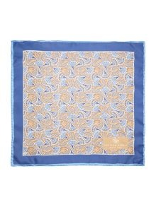 Chester Barrie Silk Floral Pocket Square
