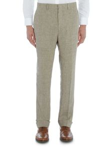 Chester Barrie Houndstooth Linen Trouser