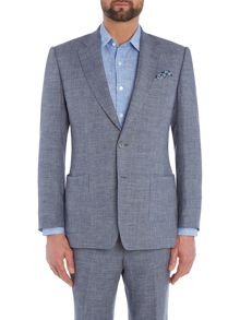 Chester Barrie Textured Glen Check Jacket