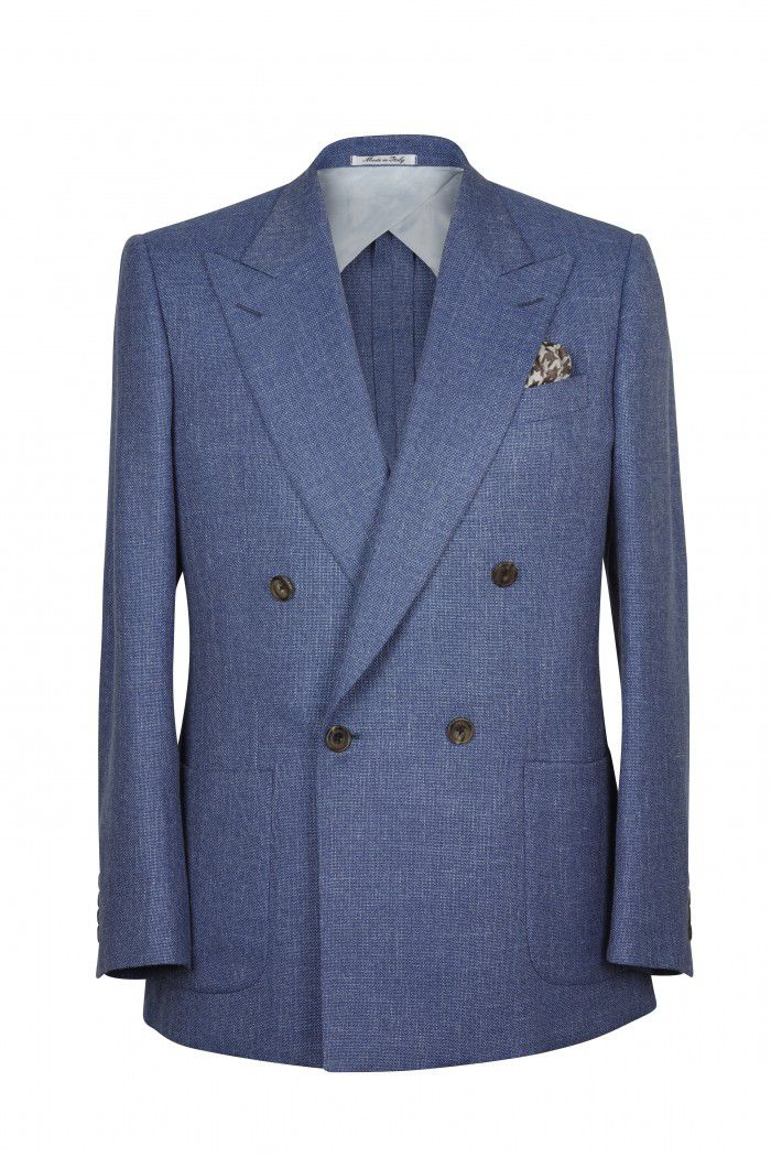 New 1940's Style Zoot Suits for Sale Mens Chester Barrie Kingly Dbured Semi Plain Jacket £375.00 AT vintagedancer.com
