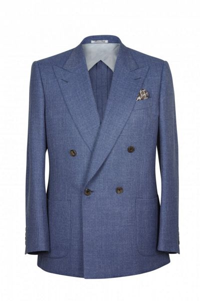 Chester Barrie Kingly Dbured Semi Plain Jacket