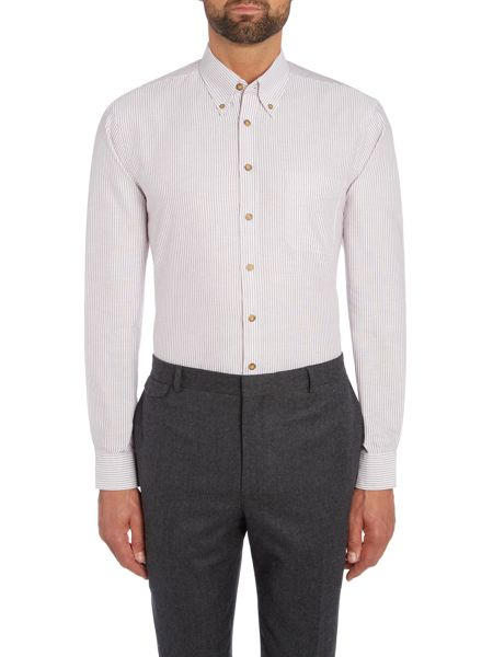 Chester Barrie Baden Oxford Bengal button down