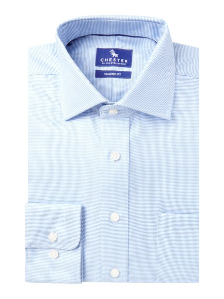Chester Barrie Broken Chevron Tailored Fit Shirt