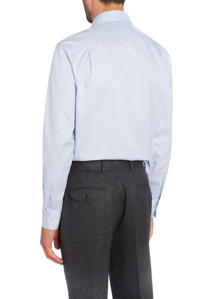 Chester Barrie Twill Stripe Tailored Fit shirt