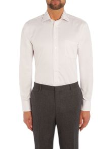 Chester Barrie Carlton Plain Twill Grid Tailored Fit