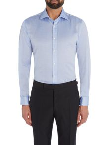 Chester Barrie Contemporary Textured Square Shirt