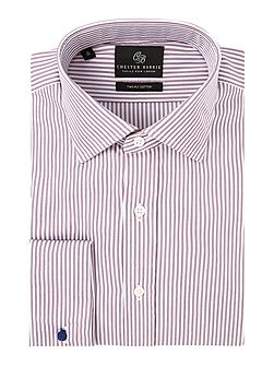 Contemporary Twill Stripe Shirt