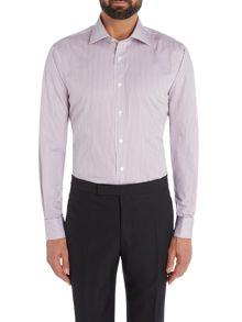 Chester Barrie Contemporary Twill Stripe Shirt