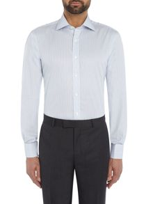 Chester Barrie Contemporary Fancy Stripe Shirt