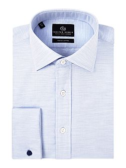 Contemporary Melange Pinpoint Shirt