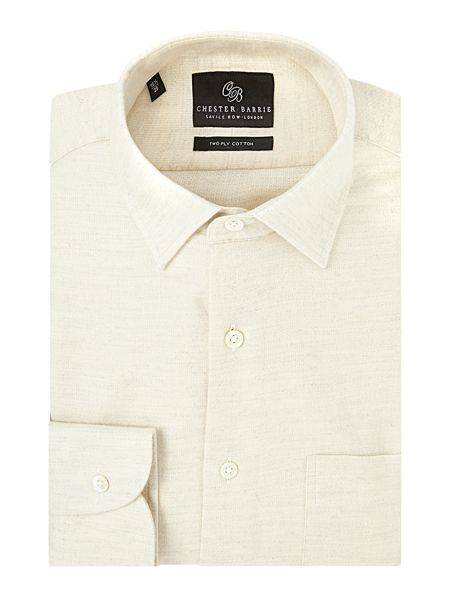 Chester Barrie Contemporary Brushed Flannel Shirt