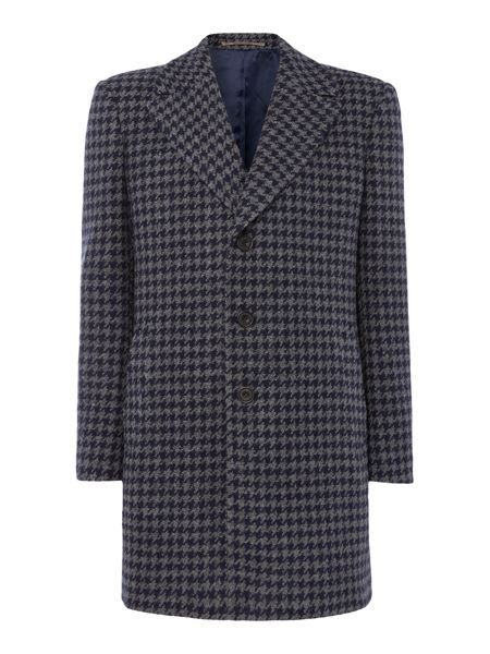 Chester Barrie Bold Dogtooth Coat