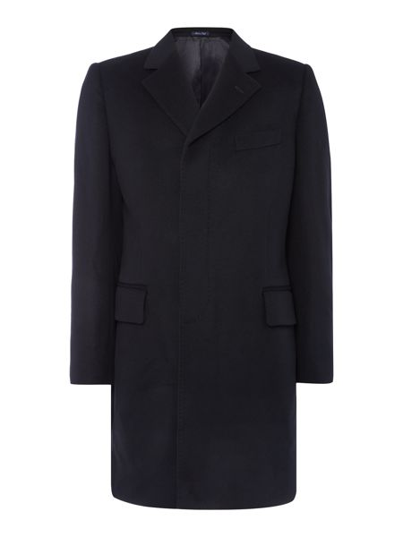 Chester Barrie Navy Epsom Coat