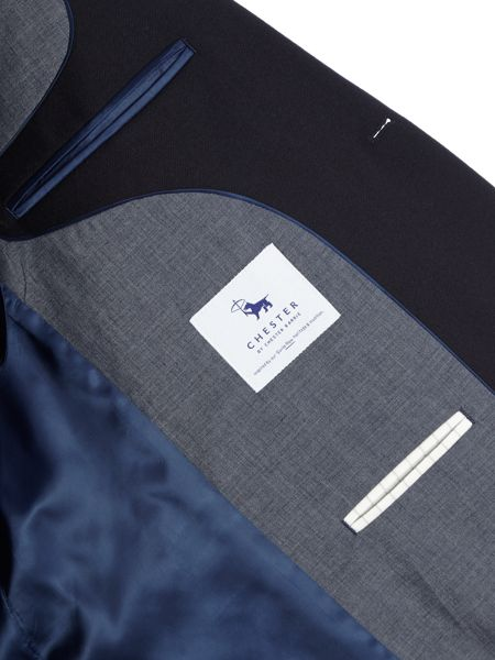 Chester Barrie Solid Twill Soho Jacket