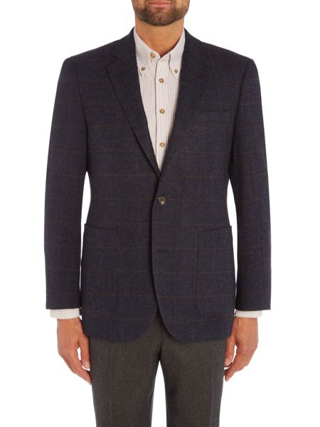 Chester Barrie Windowpane Soho Jacket