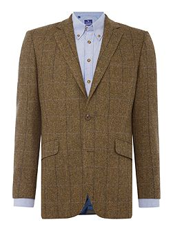 Herringbone Tweed Soho Jacket
