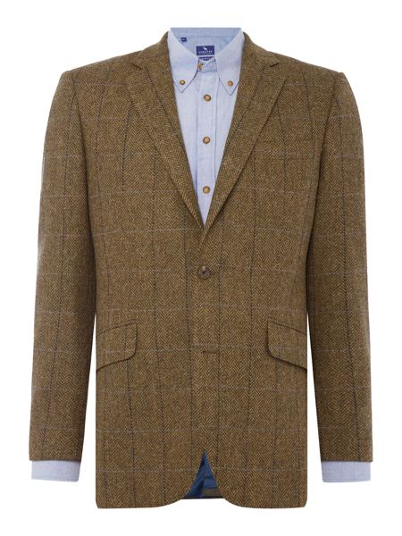Chester Barrie Herringbone Tweed Soho Jacket