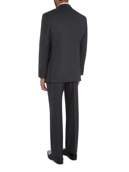 Chester Barrie Textured Wool Flannel 2pc Soho Suit