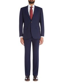 Chester Barrie Navy Hopsack 2 pc Suit