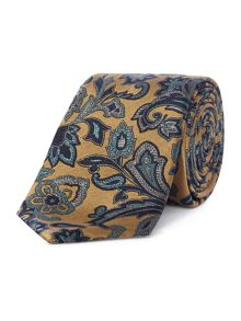 Chester Barrie Paisley Woven Silk Tie