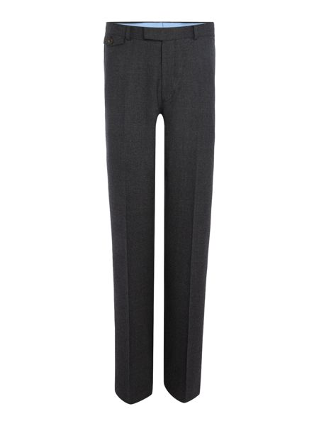Chester Barrie Textured Wool Flannel Soho Trouser